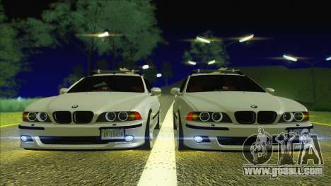BMW M5 E39 2003 Stance for GTA San Andreas right view