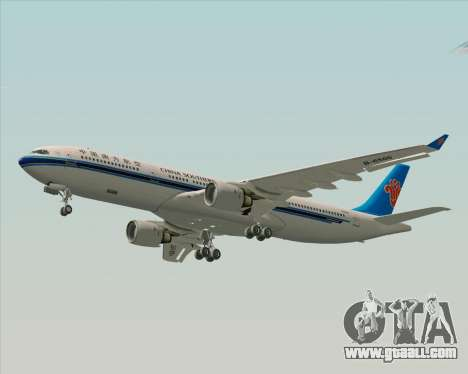 Airbus A330-300 China Southern Airlines for GTA San Andreas inner view