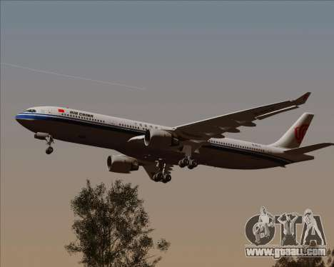 Airbus A330-300 Air China for GTA San Andreas inner view