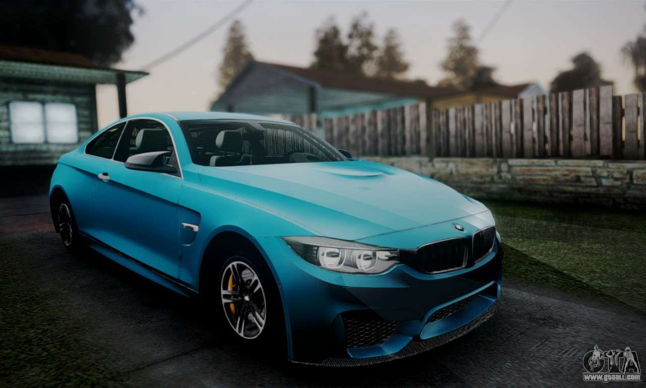 bmw m4 2014 for gta san andreas