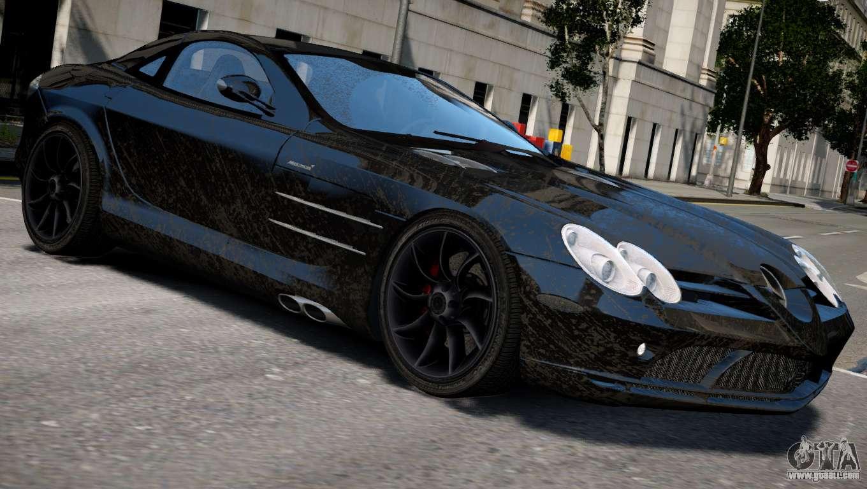 Mercedes Benz Minivan >> Mercedes SLR McLaren for GTA 4