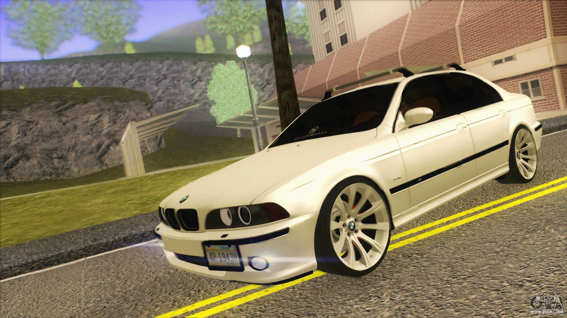 BMW M5 E39 2003 Stance for GTA San Andreas