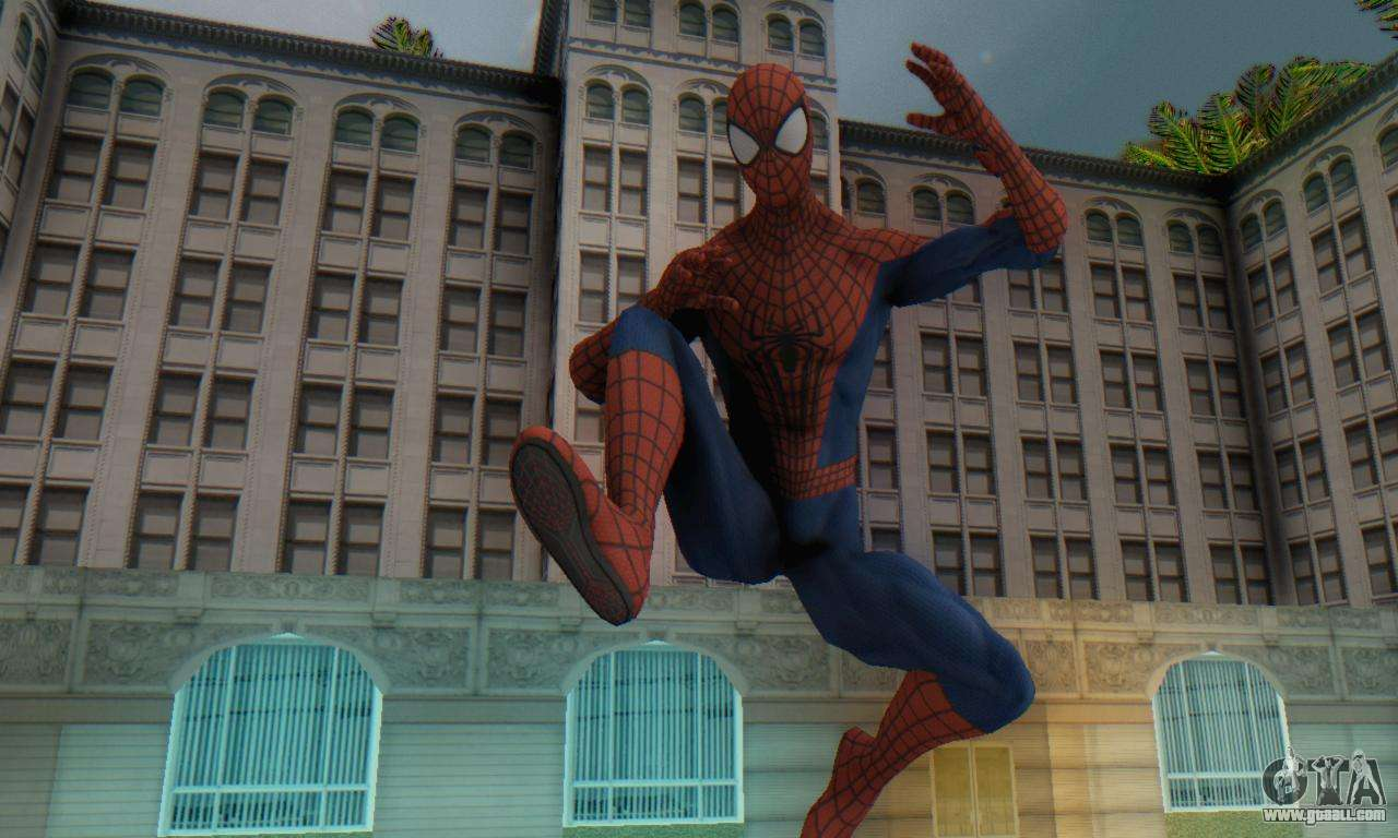 The Amazing Spider Man 2 Oficial Skin for GTA San Andreas