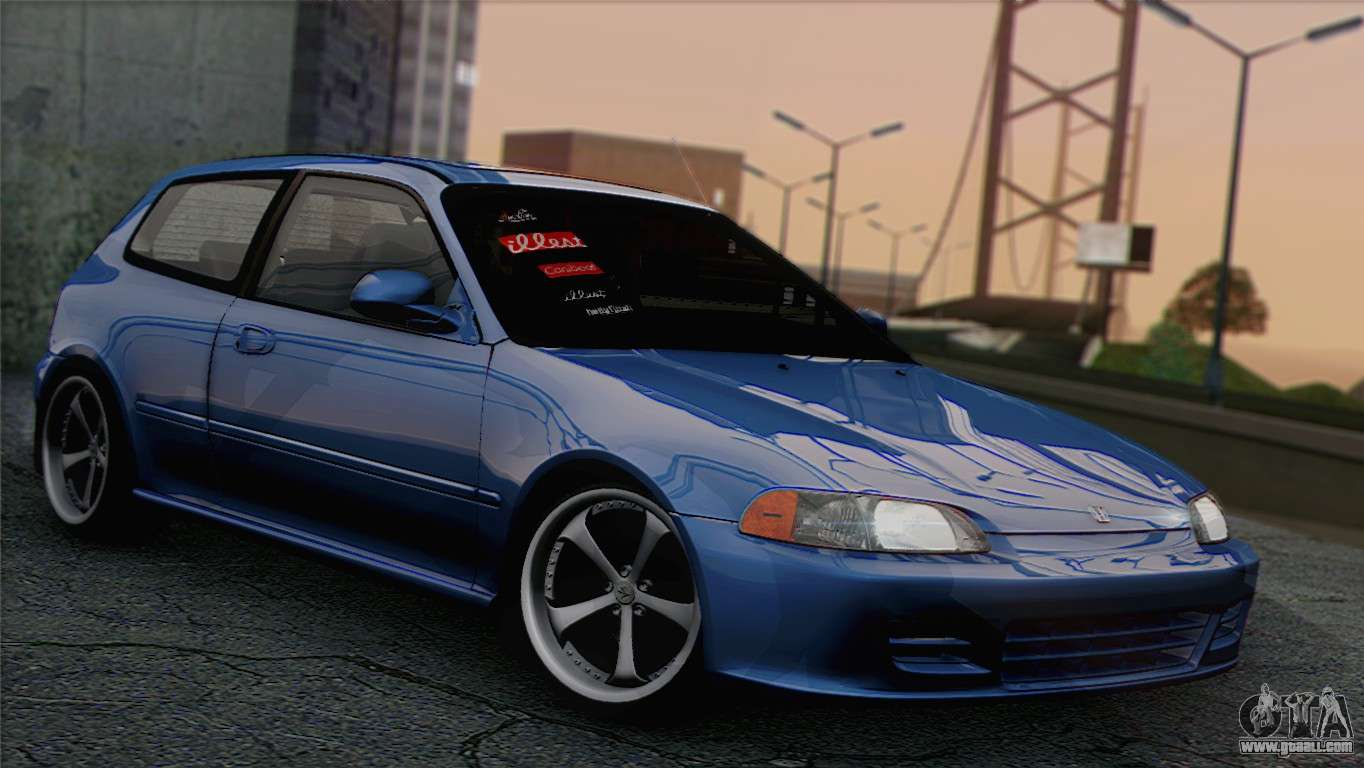 honda civic eg6 for gta san andreas. Black Bedroom Furniture Sets. Home Design Ideas