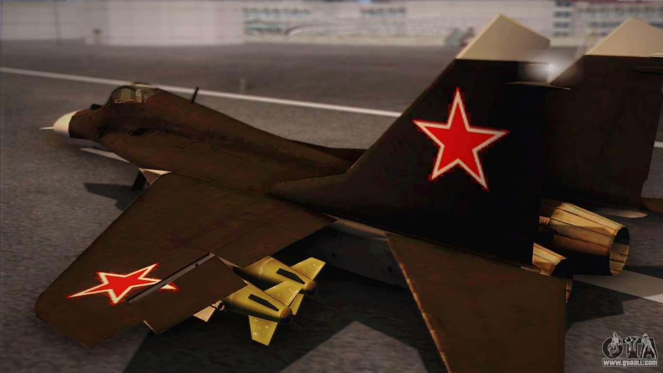 MIG 29 Russian Air Force From Ace Combat for GTA San Andreas