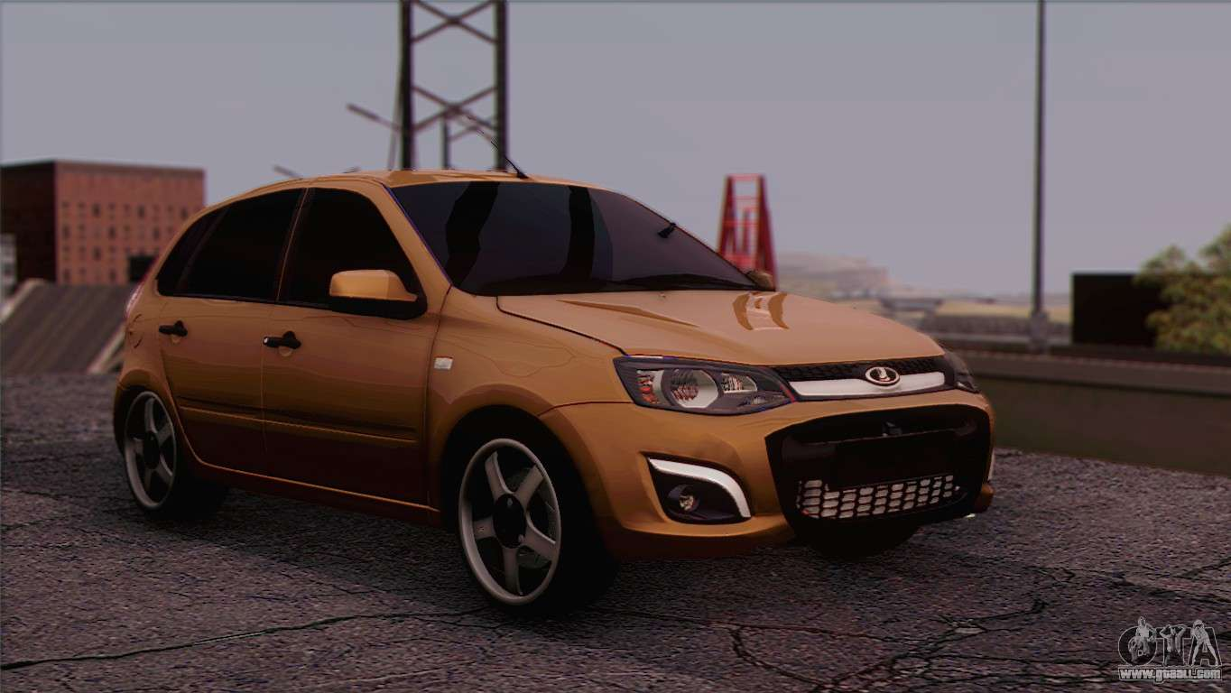lada kalina 2 wagon for gta san andreas. Black Bedroom Furniture Sets. Home Design Ideas