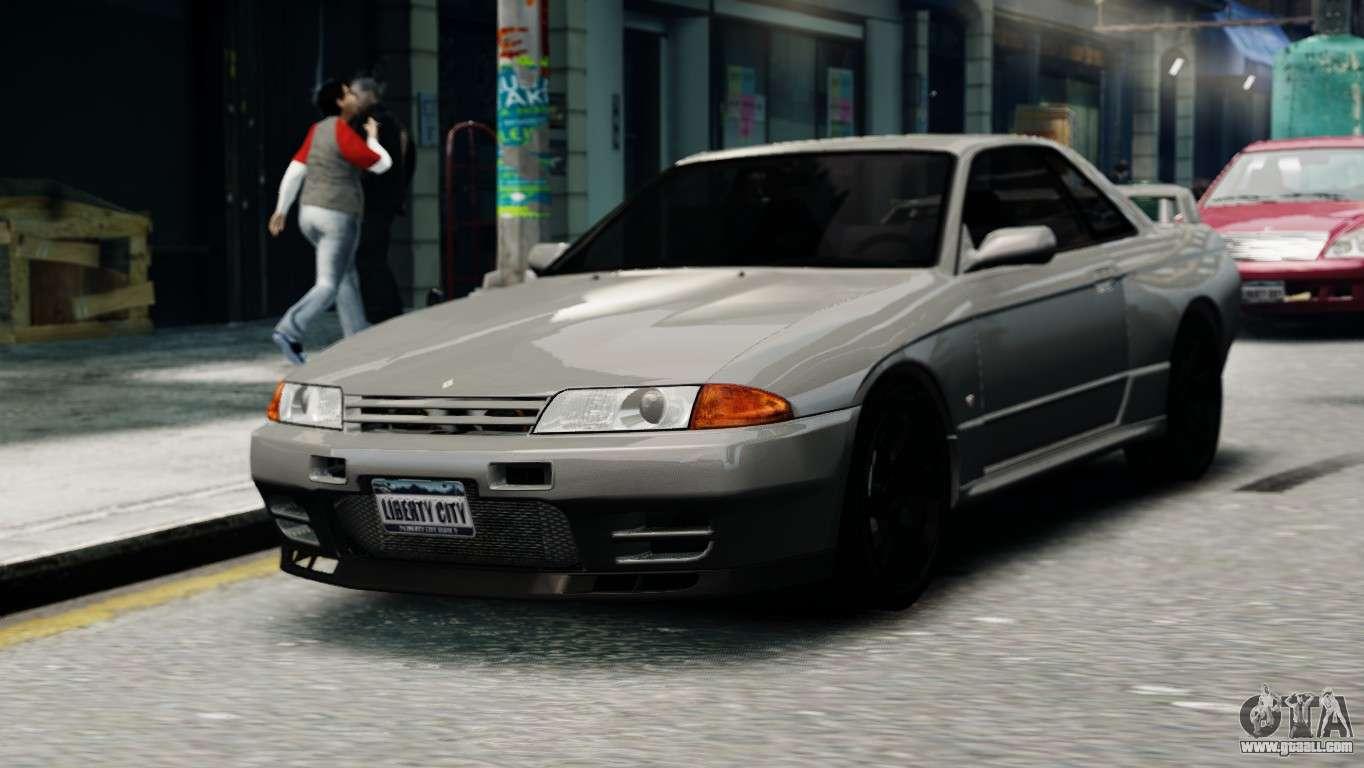 Nissan Skyline R32 Gt R For Gta 4
