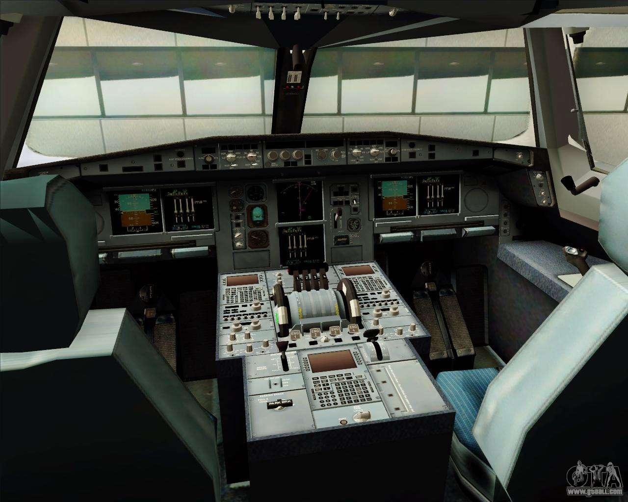 Airbus a380 841 emirates for gta san andreas for Gta sa plane interior mod