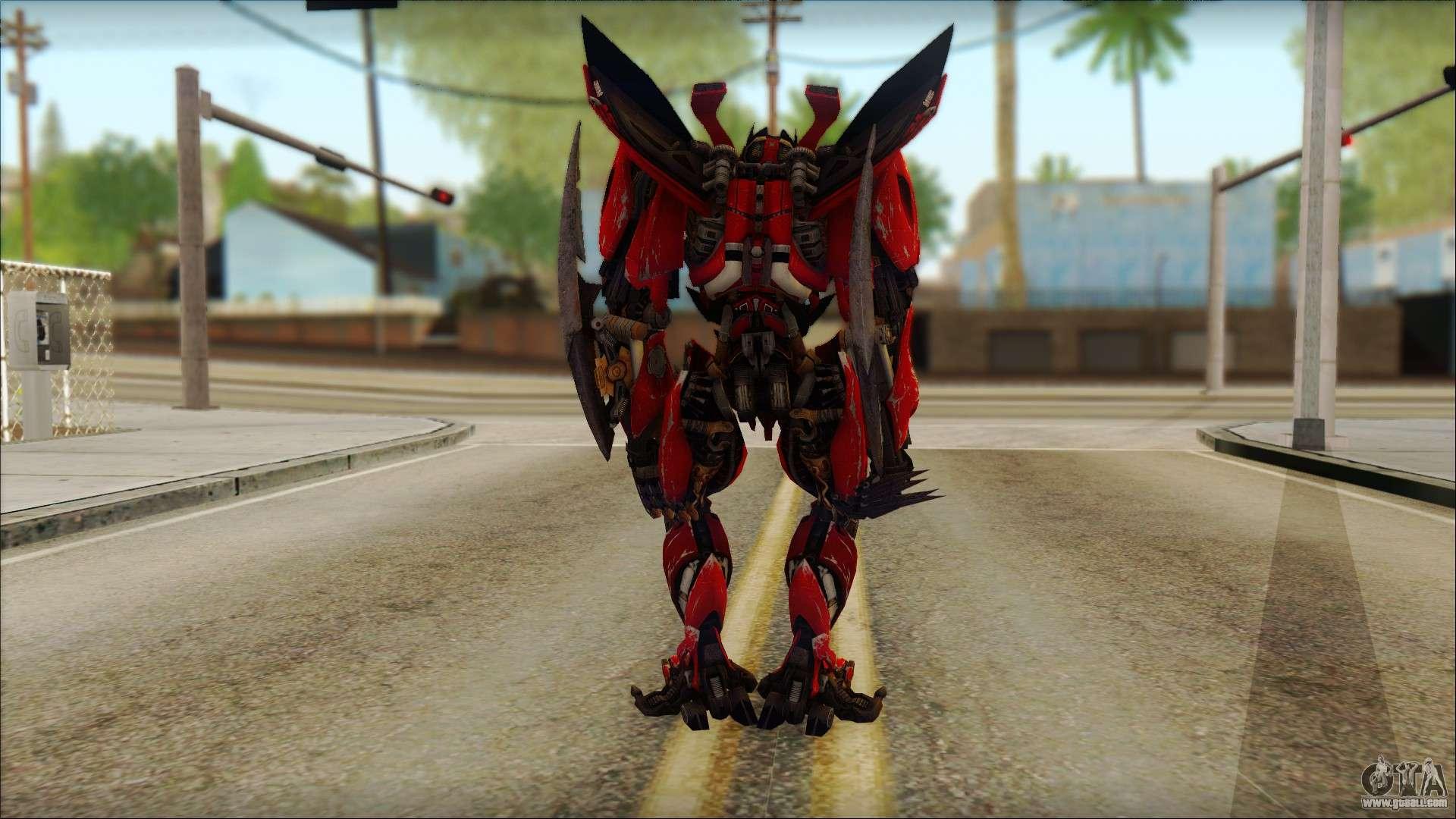 dino mirage transformers dark of the moon v1 for gta san