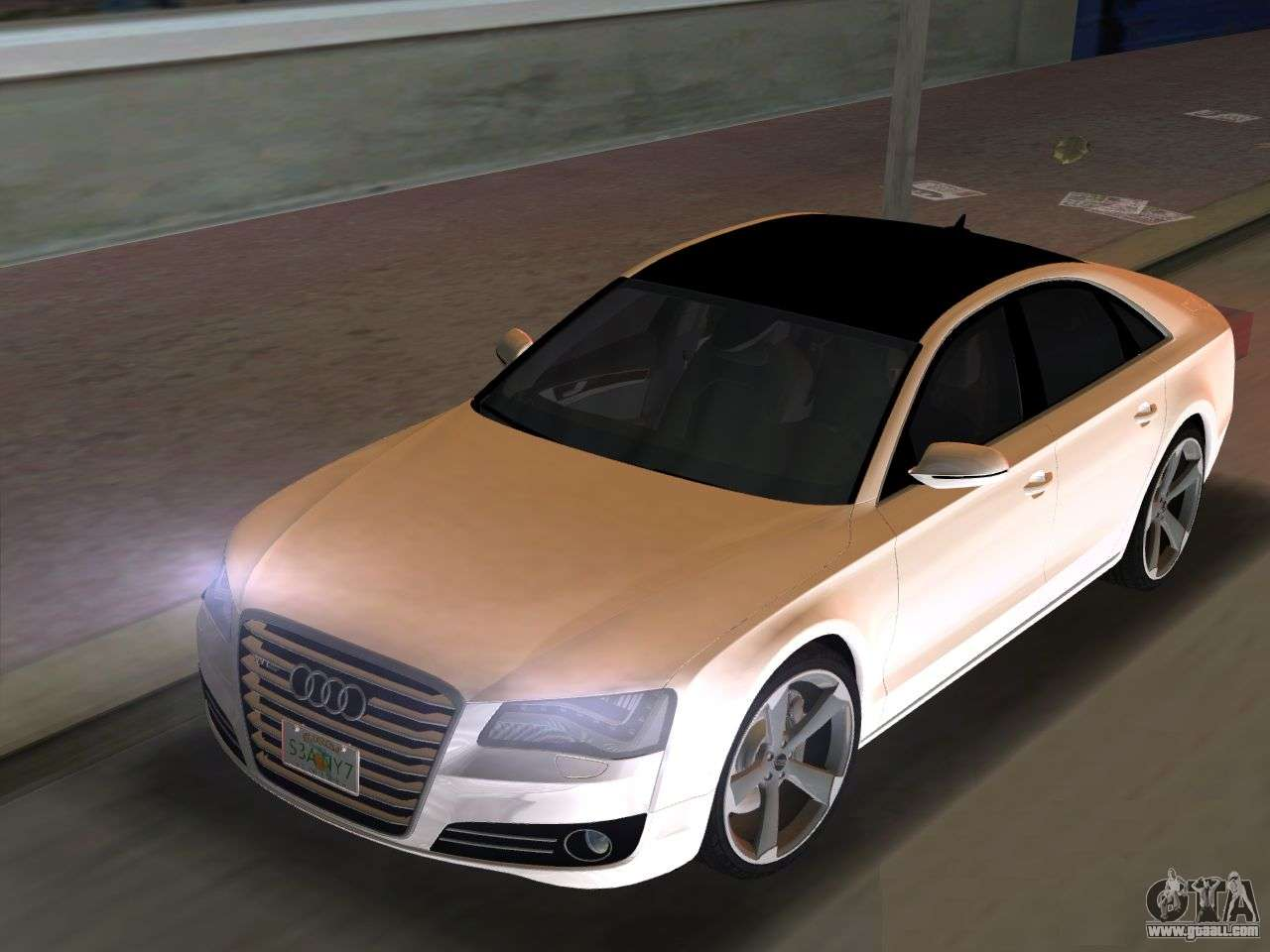 audi a8 2010 w12 rim3 for gta vice city. Black Bedroom Furniture Sets. Home Design Ideas
