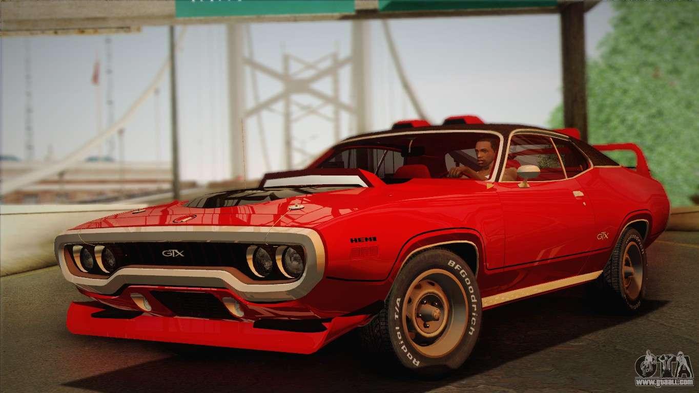 1970 Plymouth Barracuda Gran Coupe2014 For Sale 1960 Hemi Gtx Tuned 1972 V2 3 Gta San Andreas