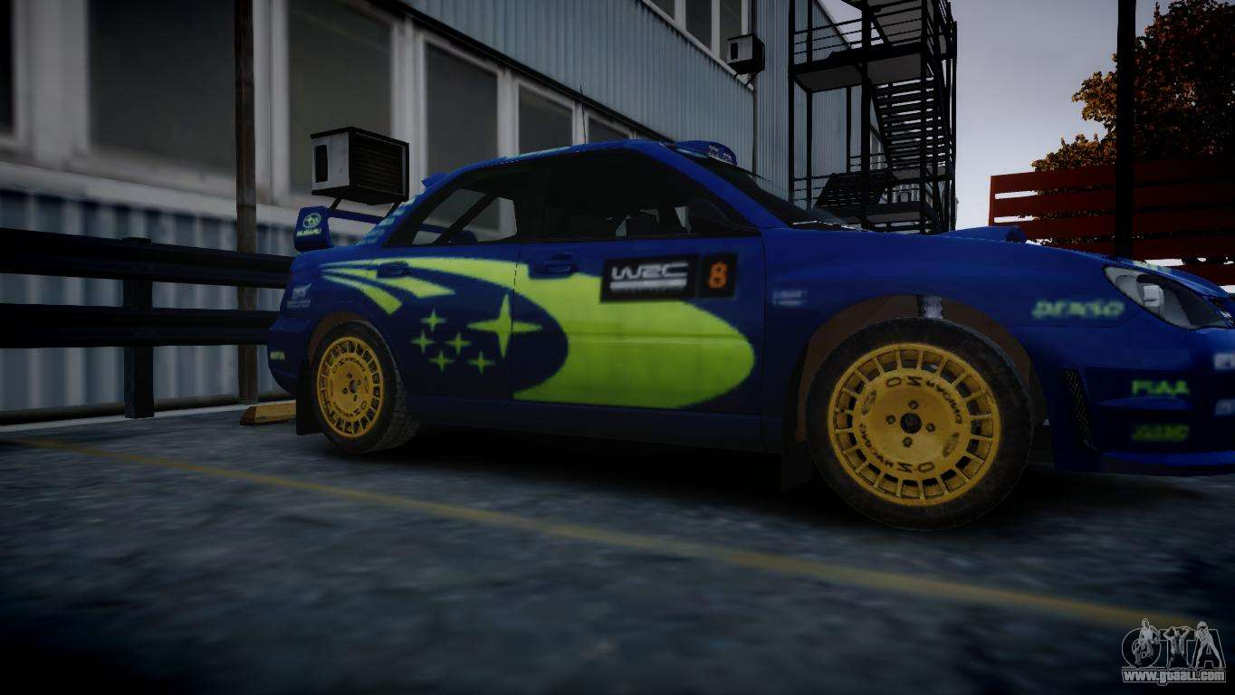 Subaru Impreza Sti Group N Rally Edition For Gta 4