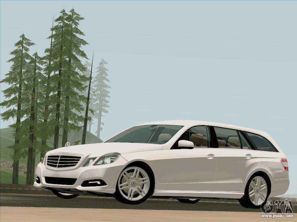 Mercedes benz e250 estate for gta san andreas for Mercedes benz e250
