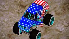 Liberator Online Version (American Flag) for GTA San Andreas