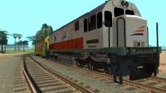 GE U18C CC 201 Indonesian Locomotive for GTA San Andreas