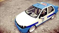 Fiat Albea Police Turkish for GTA San Andreas
