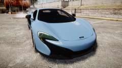 McLaren 650S Spider 2014 [EPM] Michelin v3 for GTA 4