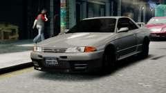 Nissan Skyline R32 GT-R for GTA 4