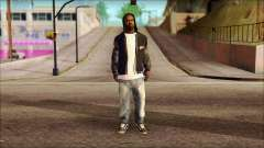 New Grove Street Family Skin v6 for GTA San Andreas
