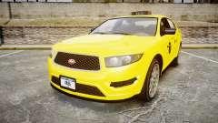 GTA V Vapid Taurus Taxi NYC for GTA 4