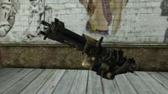 M247 Machine Gun Jorge Of Halo Reach for GTA San Andreas