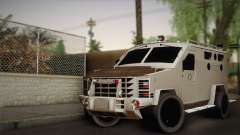 FBI Armored Vehicle v1.2 for GTA San Andreas