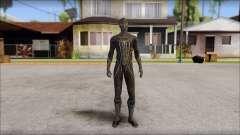 Standart Black Spider Man for GTA San Andreas