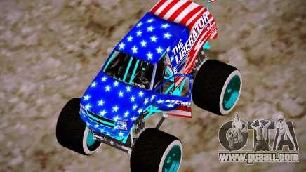 Liberator Online Version (American Flag) for GTA San Andreas