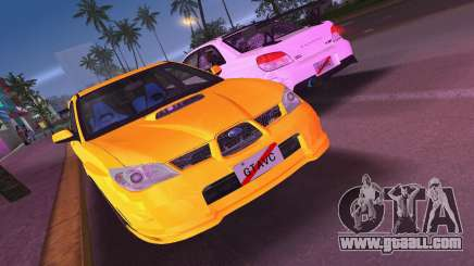 Subaru Impreza WRX STI 2006 Type 4 for GTA Vice City