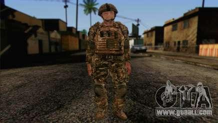 British soldiers (ArmA II: BAF) v3 for GTA San Andreas
