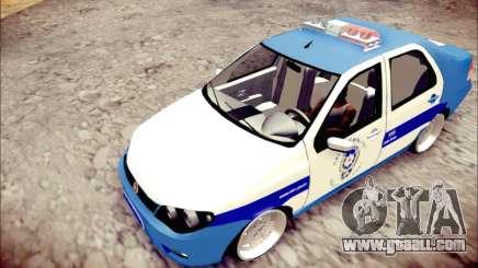 Fiat Albea Police Turkish for GTA San Andreas