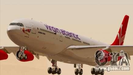 Airbus A340-313 Virgin Atlantic Airways for GTA San Andreas