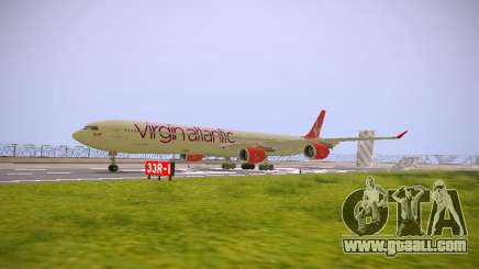 Airbus A340-600 Virgin Atlantic New Livery for GTA San Andreas