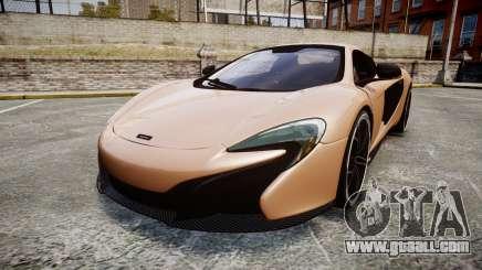 McLaren 650S Spider 2014 [EPM] Pirelli v1 for GTA 4