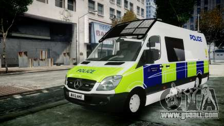 Mercedes-Benz Sprinter Police 2014 for GTA 4