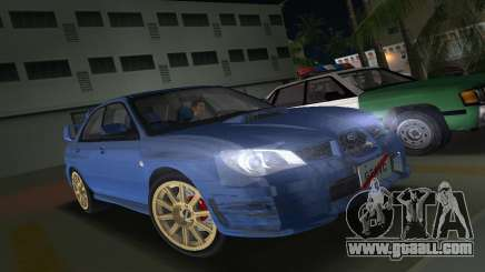 Subaru Impreza WRX STI 2006 Type 1 for GTA Vice City