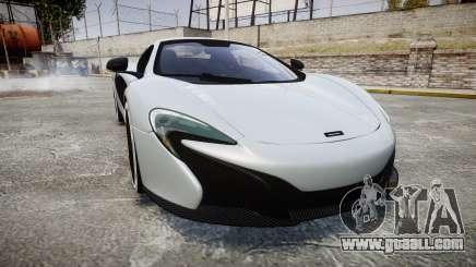 McLaren 650S Spider 2014 [EPM] KUMHO for GTA 4