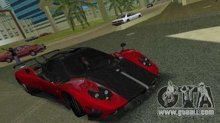 Pagani Zonda Cinque for GTA Vice City