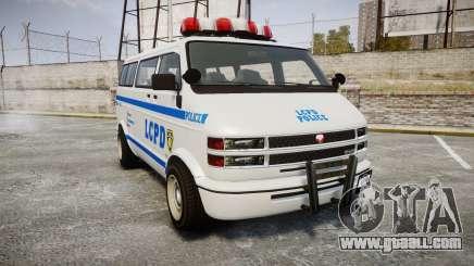 GTA V Bravado Youga LCPD for GTA 4