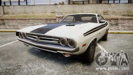 Dodge Challenger 1971 v2.2 PJ1 for GTA 4