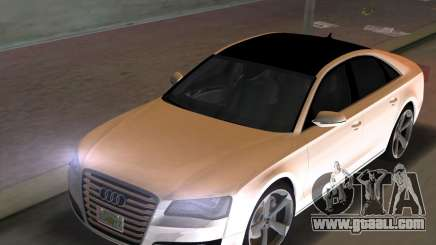 Audi A8 2010 W12 Rim3 for GTA Vice City