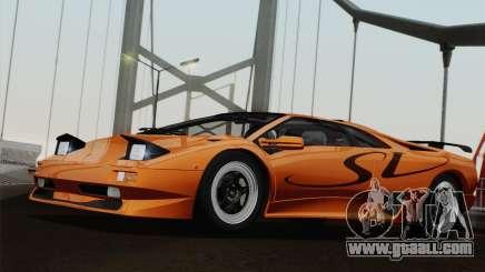 Lamborghini Diablo SV 1995 (ImVehFT) for GTA San Andreas