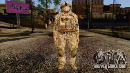 British soldiers (ArmA II: BAF) v2 for GTA San Andreas