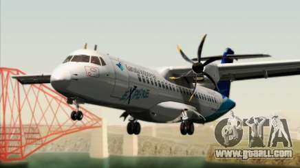 ATR 72-500 Garuda Indonesia Explore for GTA San Andreas