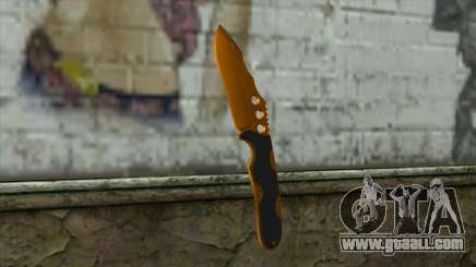 Nitro Knife for GTA San Andreas