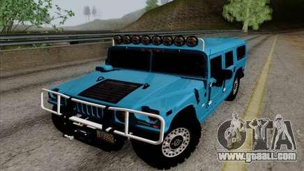 Hummer H1 Alpha 2006 Road version for GTA San Andreas