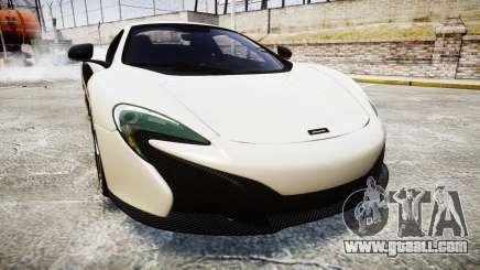 McLaren 650S Spider 2014 [EPM] BFGoodrich for GTA 4