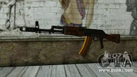 TheCrazyGamer AK74 for GTA San Andreas