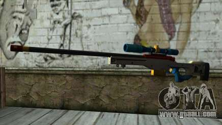 Sniper Rifle from PointBlank v4 for GTA San Andreas