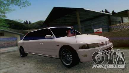 Proton Wira Official Malaysian Limousine for GTA San Andreas